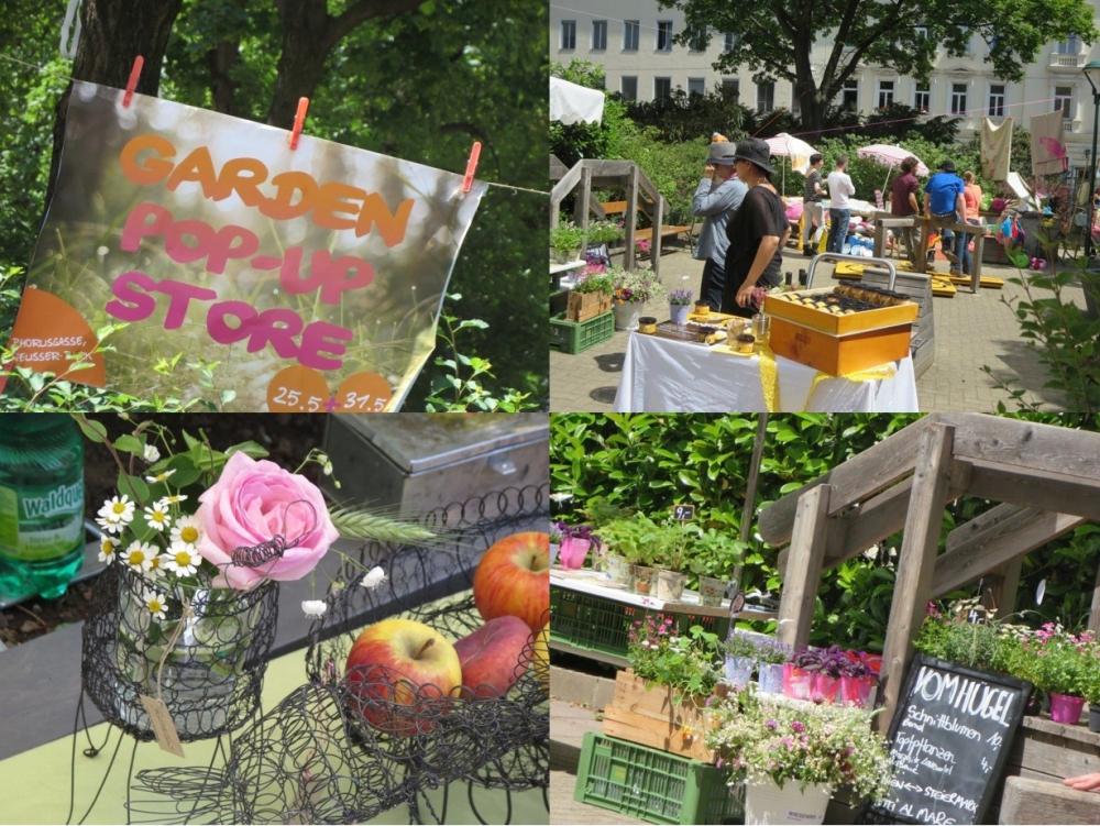 Kommenden Samstag: Der 2. Garden Pop Up Store